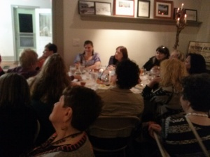 Thanks for coming Eva, Phyllis, Shelley, Janet, Traci, Reva, Carole, Caroline, Deena, Sandy & Susan!
