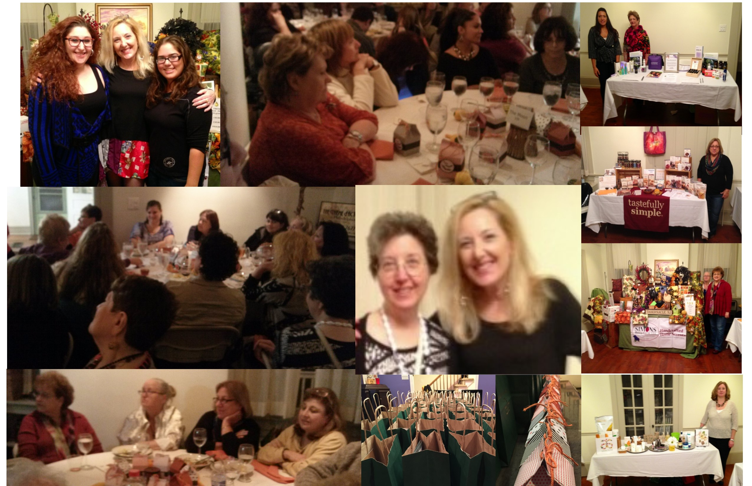 It was a great night for a Psychic Dinner on the Burlington County Farm. And the amazing food was catered by Kuzina by Sofia.