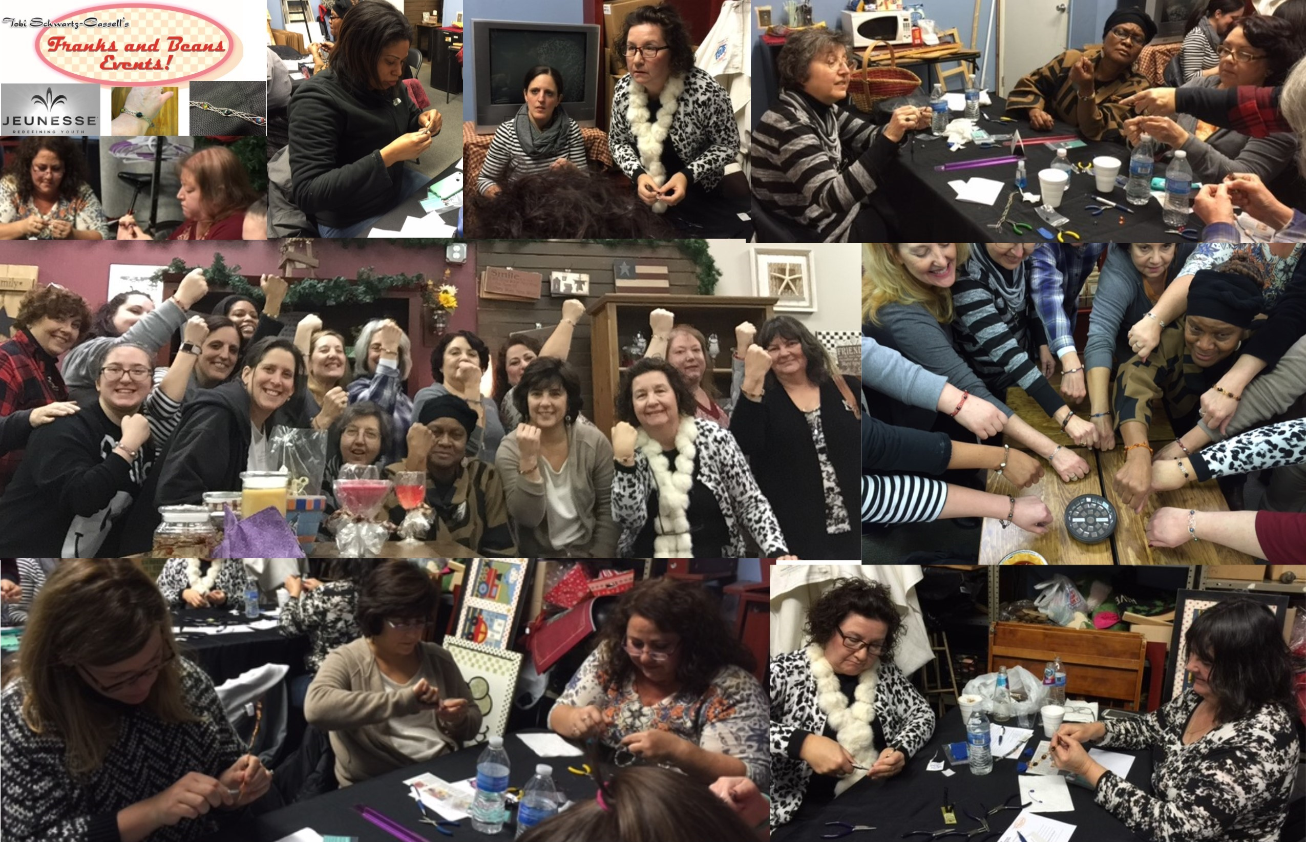 Jewelry Dinner 1-Feb 11 2016 Pix Collage
