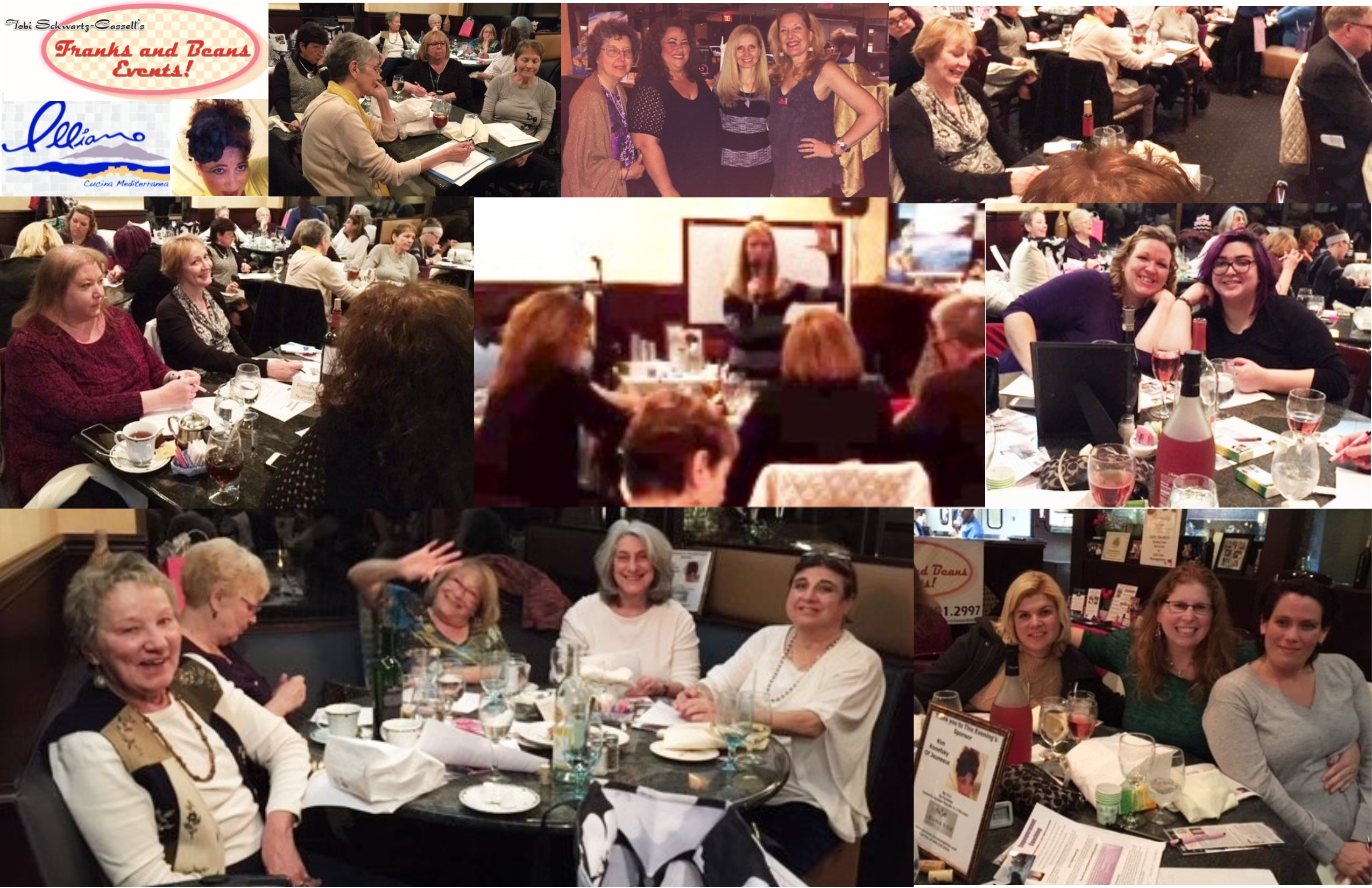 Numerology Dinner-March 22 2016 Pix Collage
