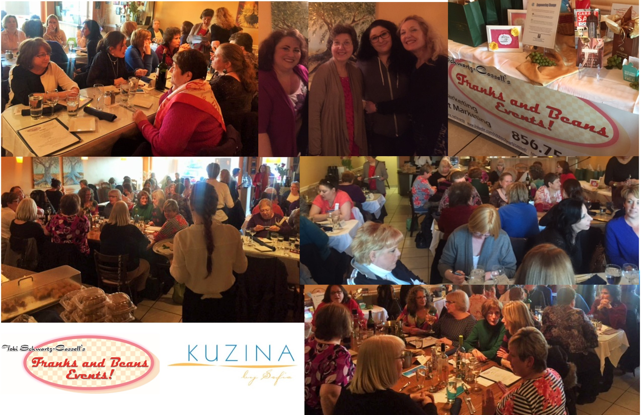 Another Psychic Dinner featuring the delicious dishes by Kuzina by Sofia.