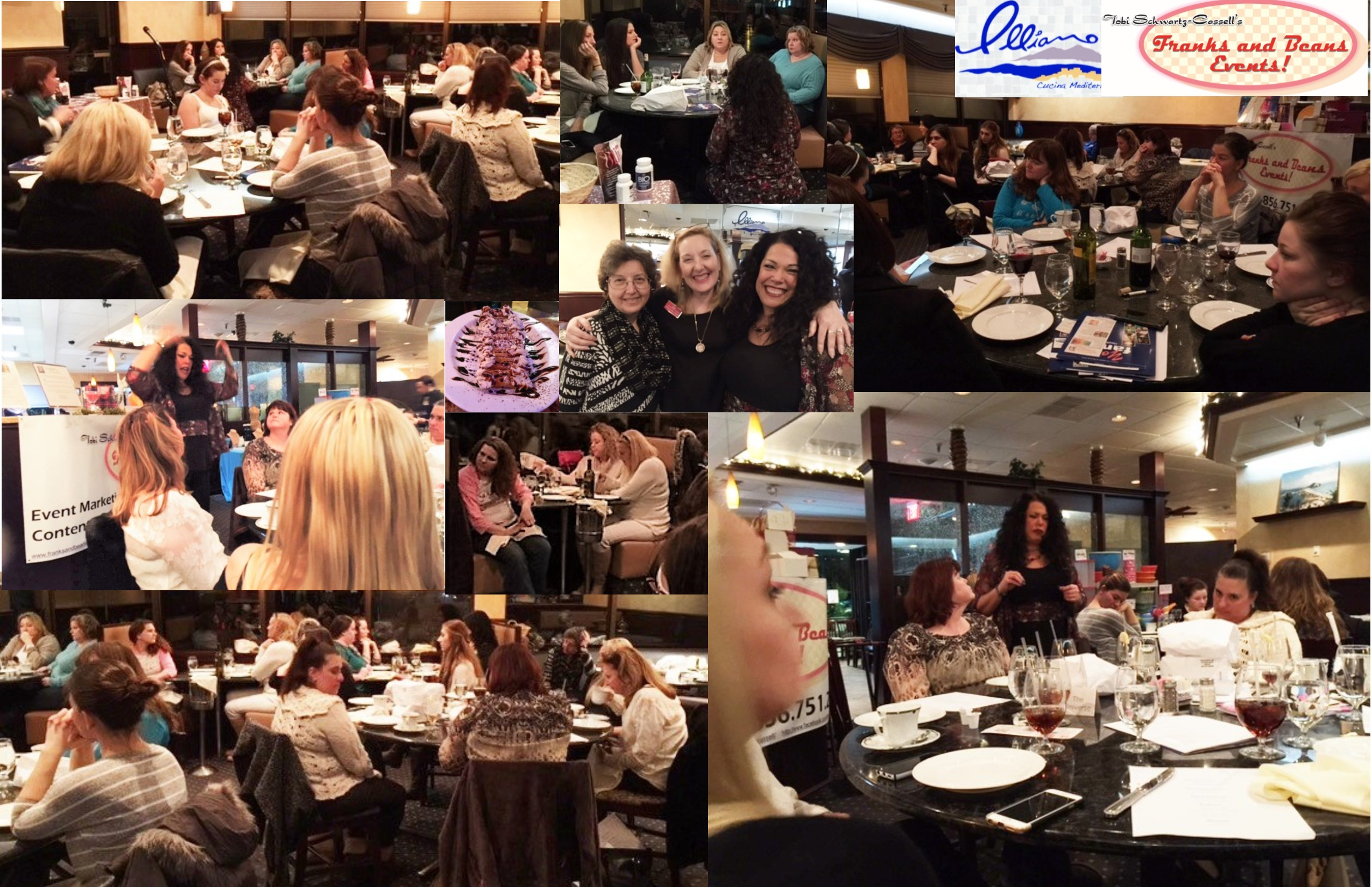 Another fun, yet healing evening with Rhonda. And the dinner at Illiano's was, as it always is, outstanding. We had homemade cannoli for dessert, too. :)