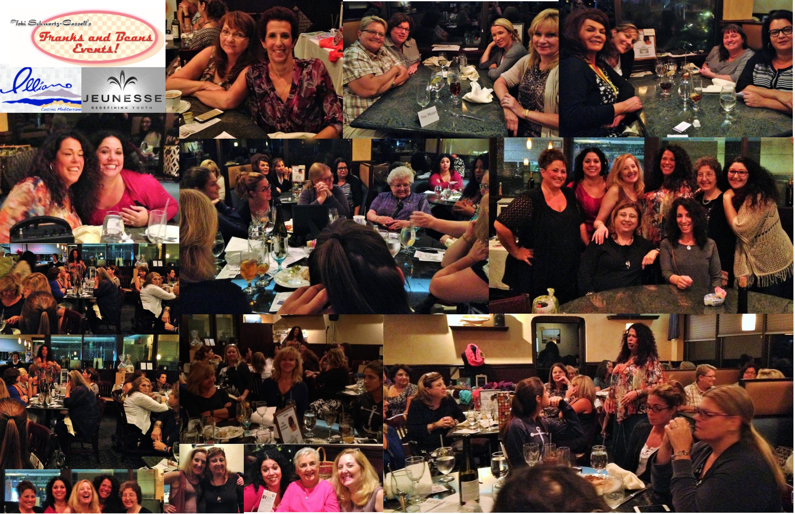 Psychic Dinner-Sept 28 2015 Pix Collage