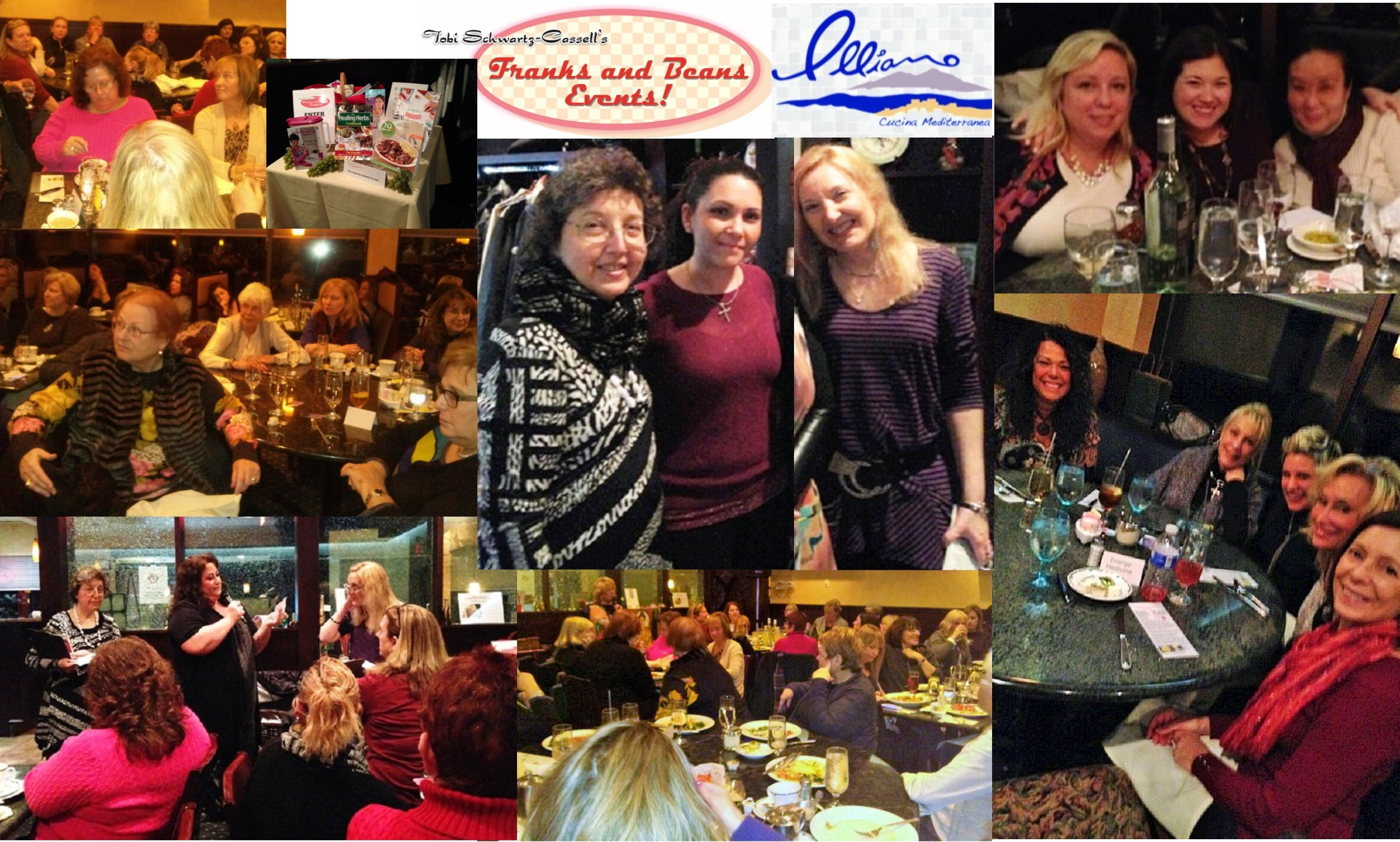 It was another fun Franks & Beans' Psychic Dinner at Illiano's in Medford.