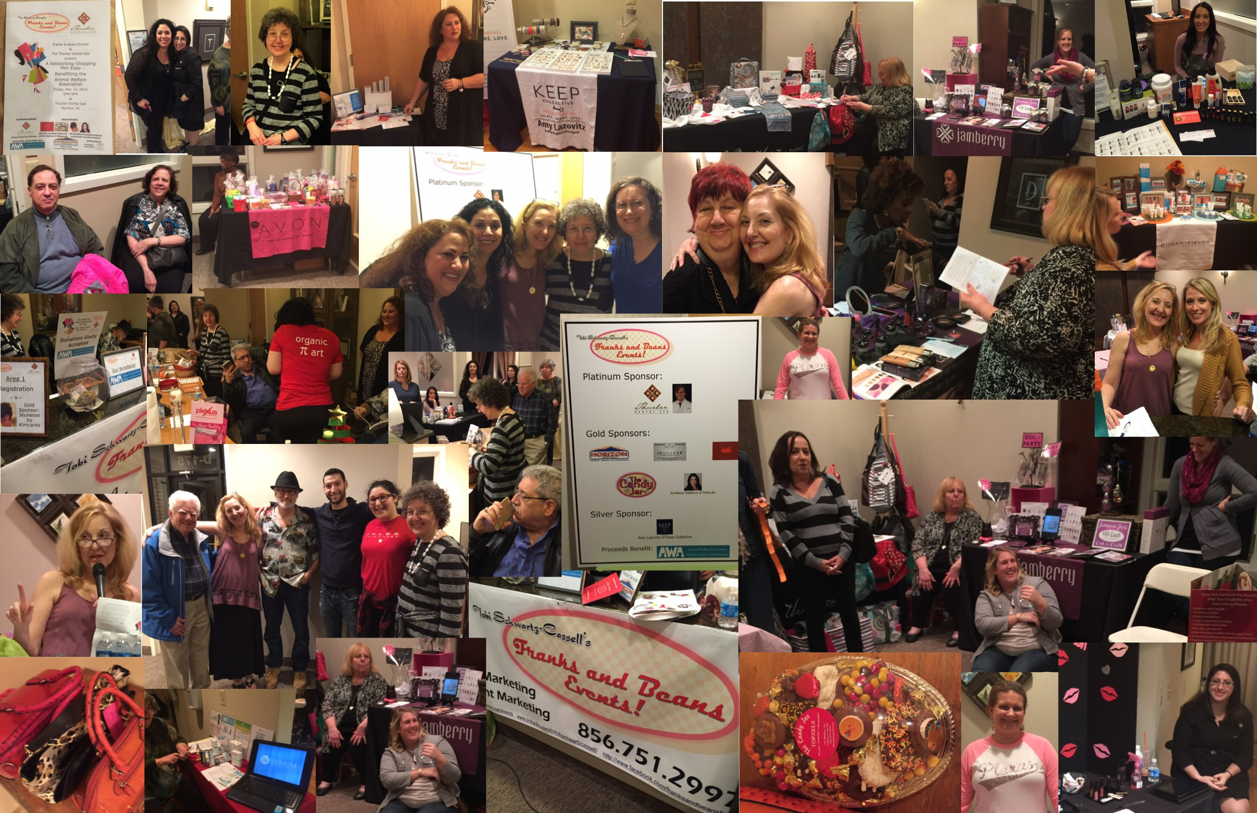 What a great night! Fun, food, shopping and helping the AWA. We thank Dr. John Thurber, DMD, for his hospitality and for offering specials on Botox, Invisalign and Boost Whitening!