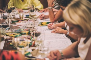 Come color with us! There will be wine.