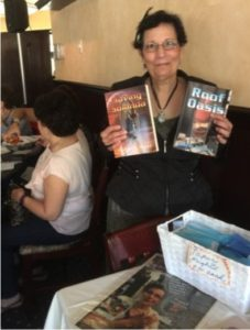 Psychic Advisor Marie Gilbert is also a SciFi author. She'll be doing readings and selling her books.