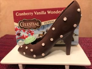 Make and take chocolate high heels