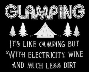 summer glamping virtual event